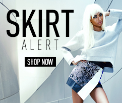 Skirt Alert