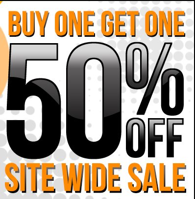 One Day Only! Buy One Get One 50% OFF Use Code BOGO50
