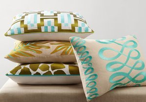 Pop of Color: Throw Pillows