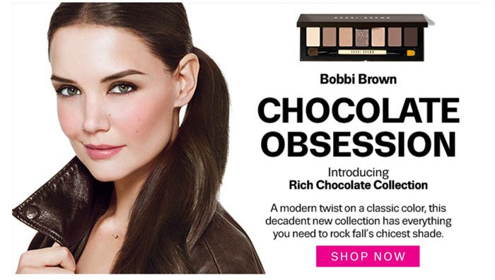 Bobbi Brown Chocolate Obsession. Shop Now.