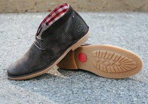Shop Base London Detailed Boots & Chukkas