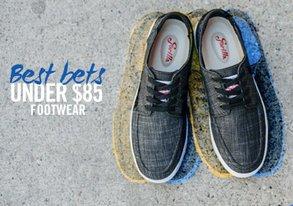 Shop Best Bets Under $85: Footwear