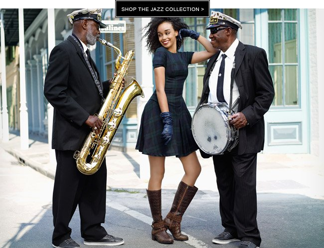 SHOP THE JAZZ COLLECTION
