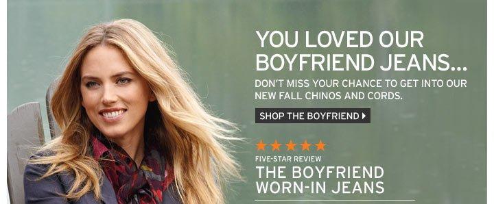 Shop The Boyfriend