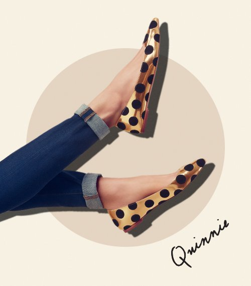 Shop new fall Quinnie pointed toe flats at the official Loeffler Randall Store: www.LoefflerRandall.com