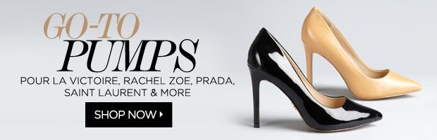 Pumps from Pour la Victoire, Jimmy Choo, Rachel Zoe and More