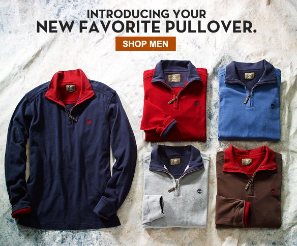Introducing your new favorite pullover. Shop Men