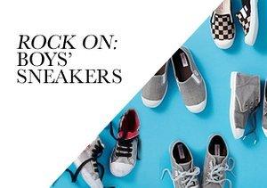 Rock On: Boys' Sneakers