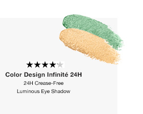 Color Design Infinite 24h   24H Crease-Free Luminous Eye Shadow