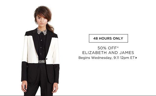 50% Off* Elizabeth And James...Shop Now