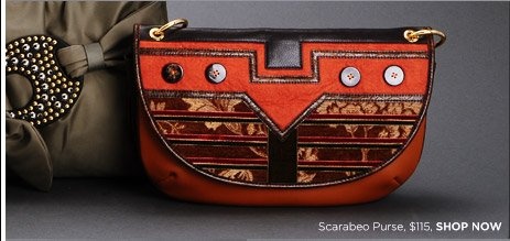 Scarabeo Purse, $115, SHOP NOW