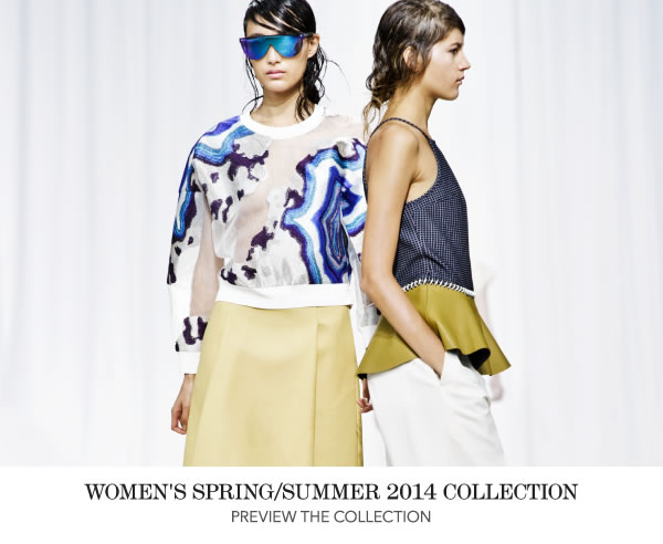 Preview the Women's Spring/Summer 2014 Collection
