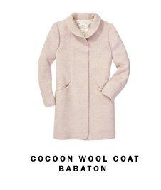 Cocoon Wool Coat Babaton