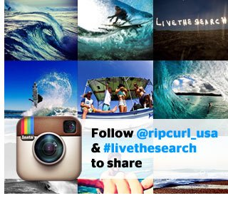 Rip Curl USA on Instagram - Follow @ripcurl_usa & #livethesearch to share