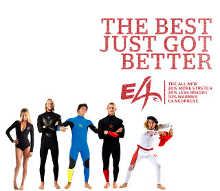 The Best Just Got Better - Featuring E4 Neoprene.