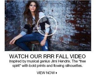 RRR Fall Video