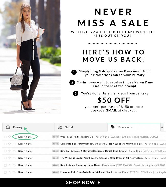 Never Miss a Sale