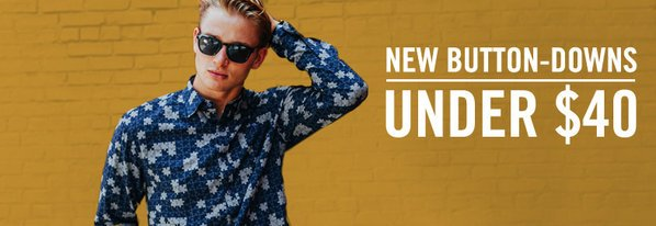 Shop New Button-Downs Under $40