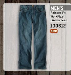 Men's Relaxed Fit Work-Flex Linden Jean