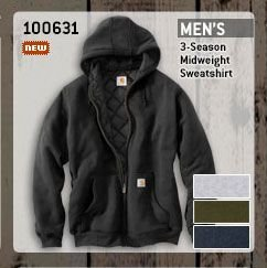 Men's 3-Season Midweight Sweatshirt