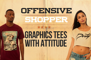 Graphics Tees With Attitude