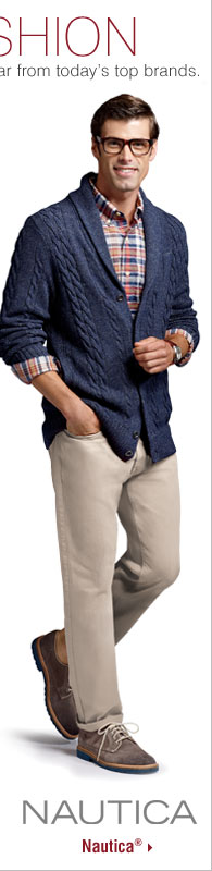 MEN'S FALL FASHION. Stay current with the latest trends in dress and casualwear from today's top brands. Shop Nautica®.