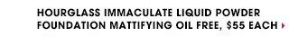 Hourglass Immaculate Liquid Powder Foundation Mattifying Oil Free, $55