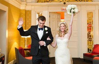 vera wang real wedding DC