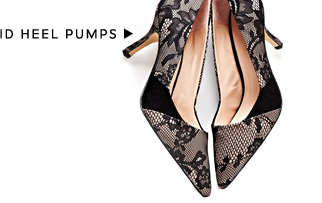Shop Mid Heel Pumps