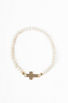 DOTS AND CROSS BRACELET 6
