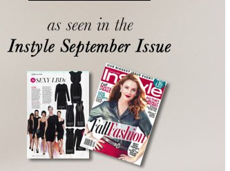 InStyle September Issue