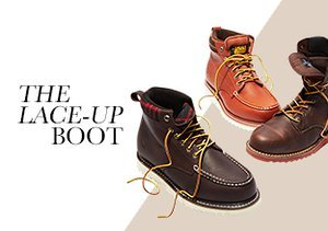Fall 2013: The Lace-Up Boot