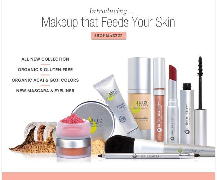 Introducing Makeup that Feeds your Skin