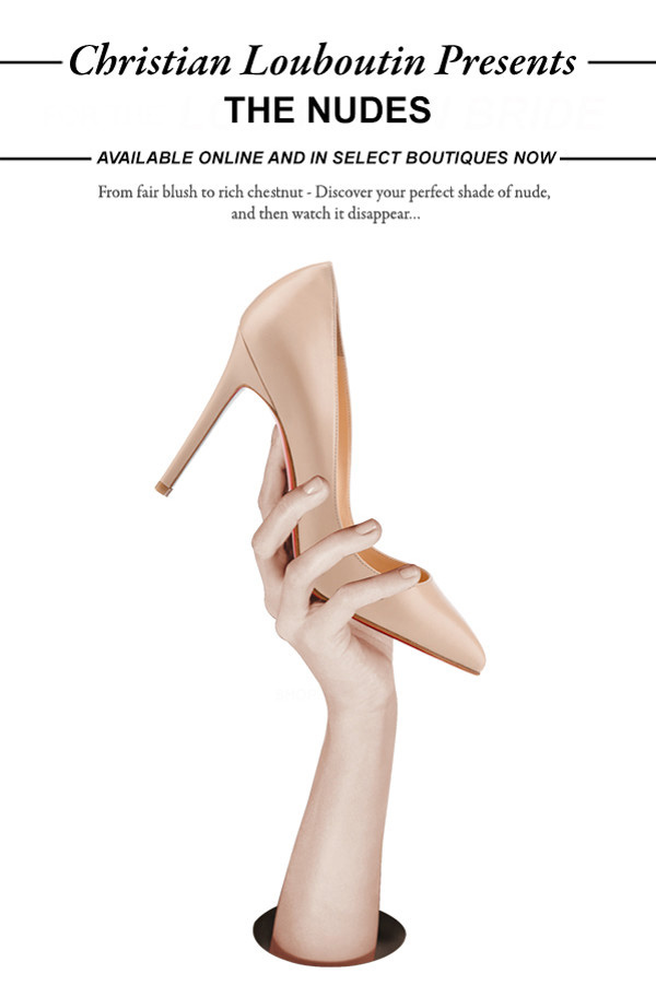 Chrostian Louboutin Presents - The Nudes