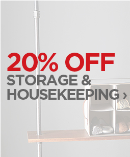 20% OFF STORAGE & HOUSEKEEPING  ›