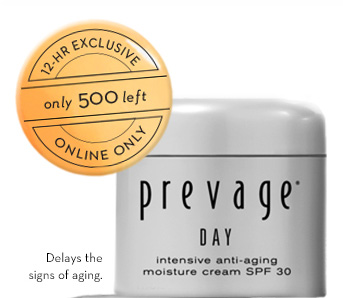 12-HR EXCLUSIVE. Only 500 left. Online Only. Delays signs of aging.