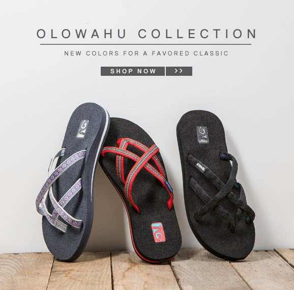 OLOWAHU COLLECTION - New colors for a favored classic. SHOP NOW