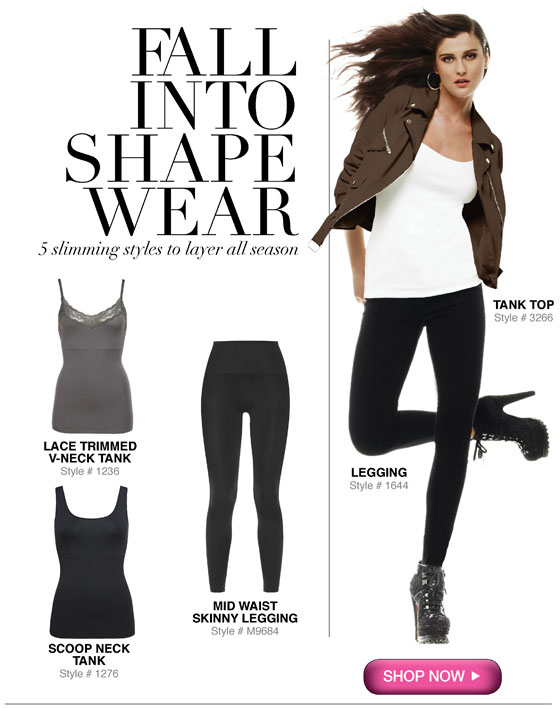 Fall into Shapewear: 5 Slimming Styles to Layer All Season