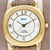 Nude-Gold Wrap Watch