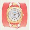 Sunrise Orange-Rose Gold Odyssey Wrap Watch