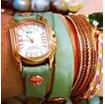 Melon Chateau Wrap Watch