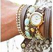 Venetian Stones Wrap Watch