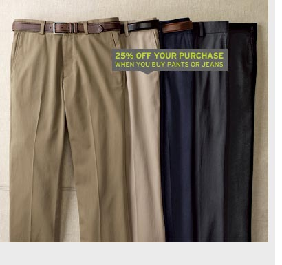 Wrinkle-Free Pants