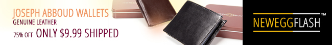 Newegg Flash - JOSEPH ABBOUD WALLETS. GENUINE LEATHER. 75% OFF ONLY $9.99 SHIPPED.