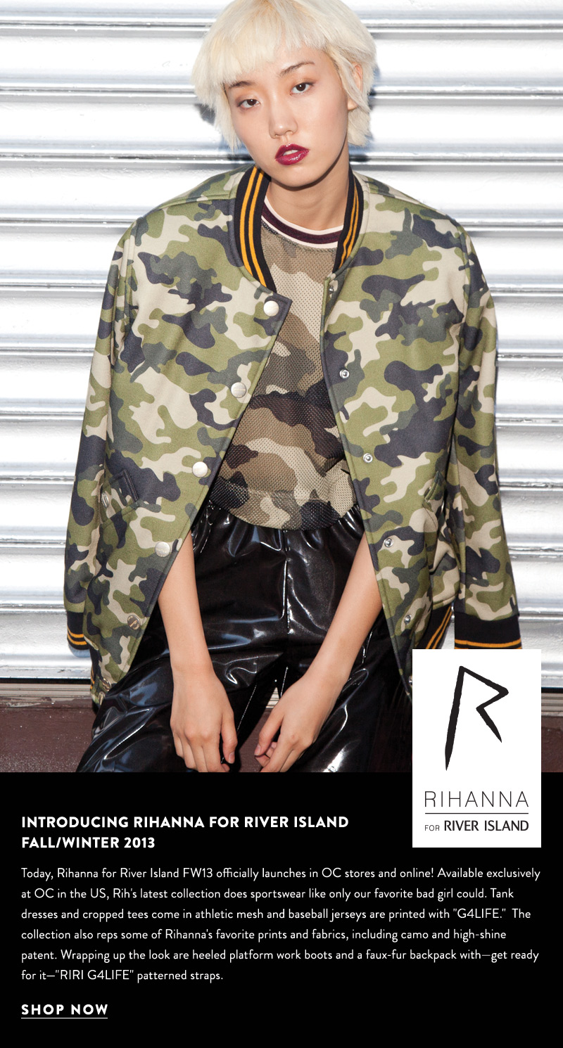 Introducing Rihanna for River Island Fall/Winter 2013 - Shop Now