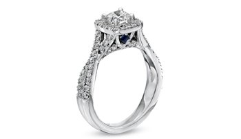 Vera Wang Love Diamond engagement ring