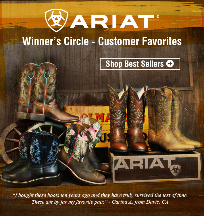 Ariat® Winner Circle - Customer Favorites