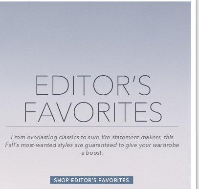 Shop Editor's Favorites