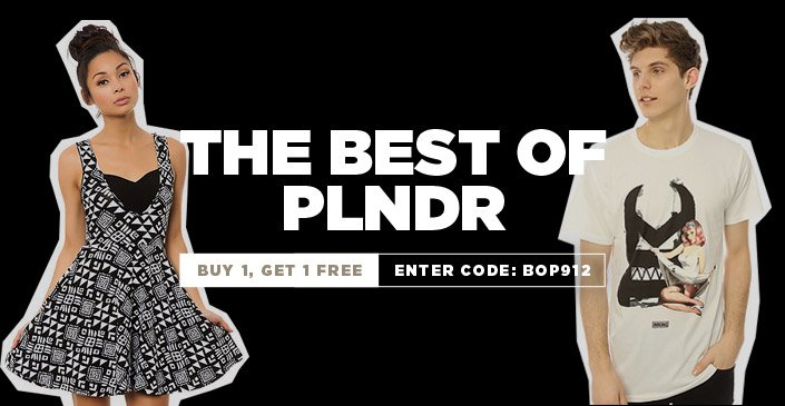 The Best of PLNDR is Buy 1, Get 1