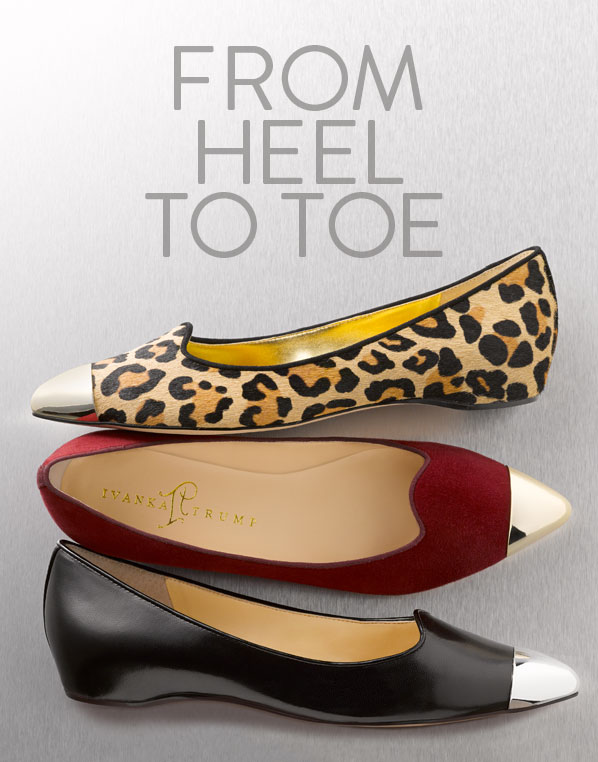 FROM HEEL TO TOE